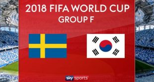 Football World Cup 2018 Live | Sweden vs South Korea Live Sky Sports Live FIFA World Cup 2018 Live 18th June 2018 Online Today