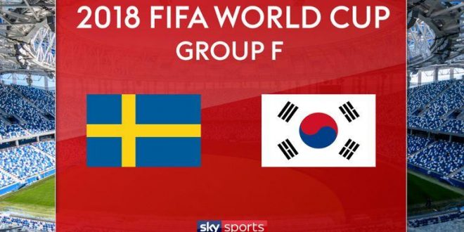 Sweden vs South Korea Live Now