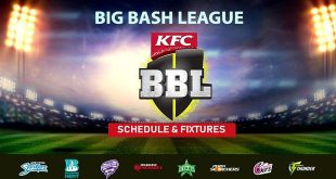 Big Bash League 2018-19 Schedule