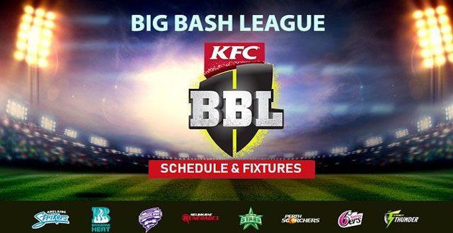 Big Bash League 2018-19 Schedule