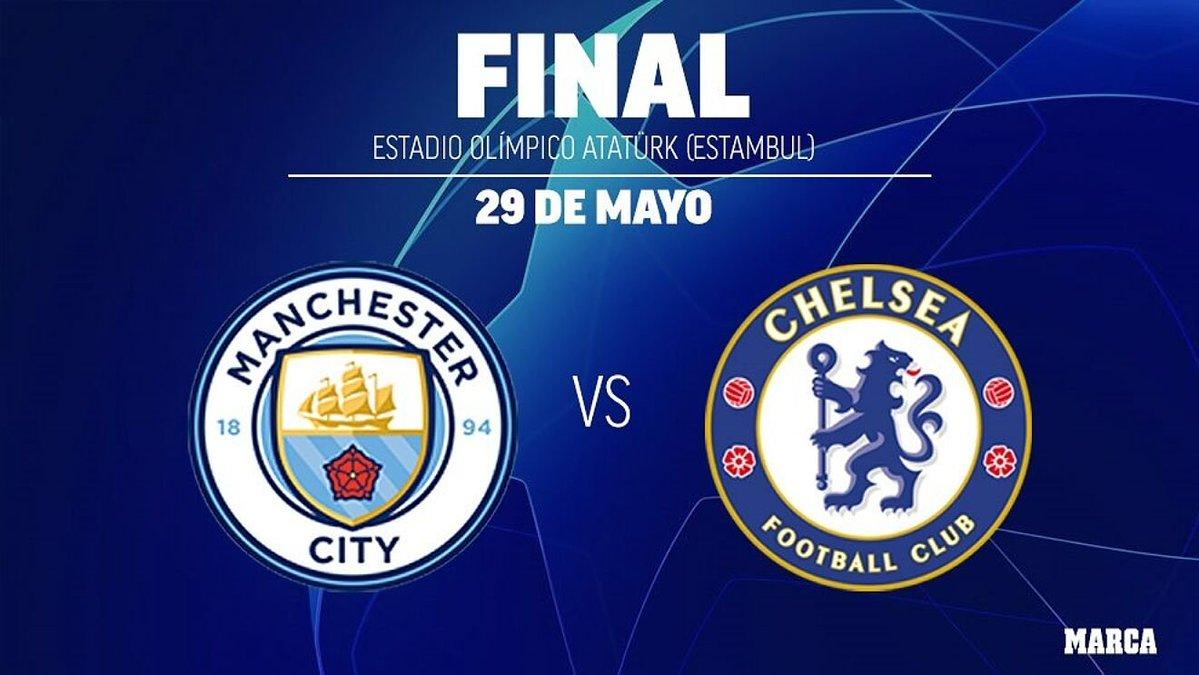 Champions League Final Manchester City vs Chelsea Live ...