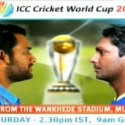 Watch Cricket World Cup Final Sri Lanka vs India From Mumbai