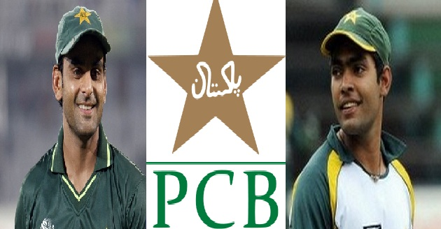 PCB issues notices to Muhammad Hafeez, Umar Akmal