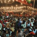 PTI Jalsa Multan Thousand of People Sitting