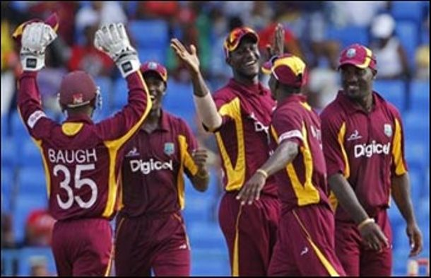West Indies Beat India by 103 runs in 4th ODI Cricket Match